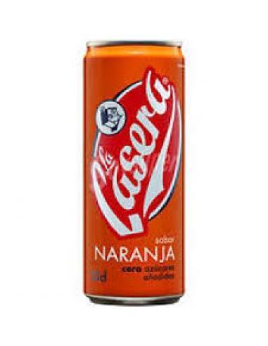 Casera lata naranja (330 ml) - Imagen 1