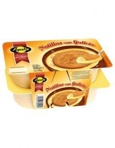 Natillas ayala galletas (pack 4) - Imagen 1