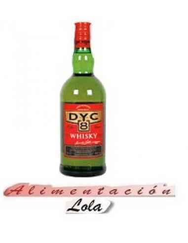 Botellona Whisky dic 8 años (0.70cl) - Imagen 1