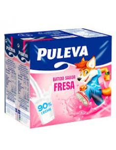Batido puleva fresa (pack 6 ) - Imagen 1