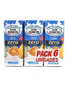 Zumos Don Simón caribe zero (pack 6) - Imagen 1