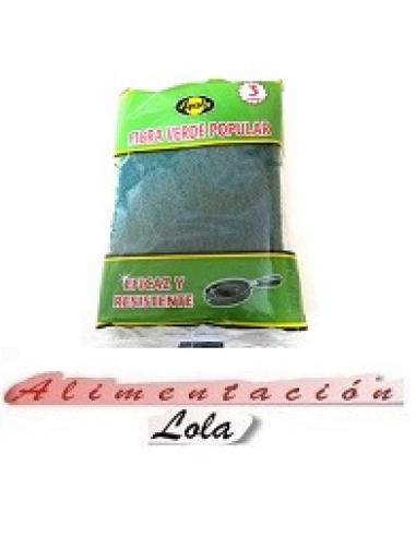 Estropajo ayala fibra verde  (pack3) - Imagen 1
